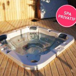 camping avec jacuzzi privatif